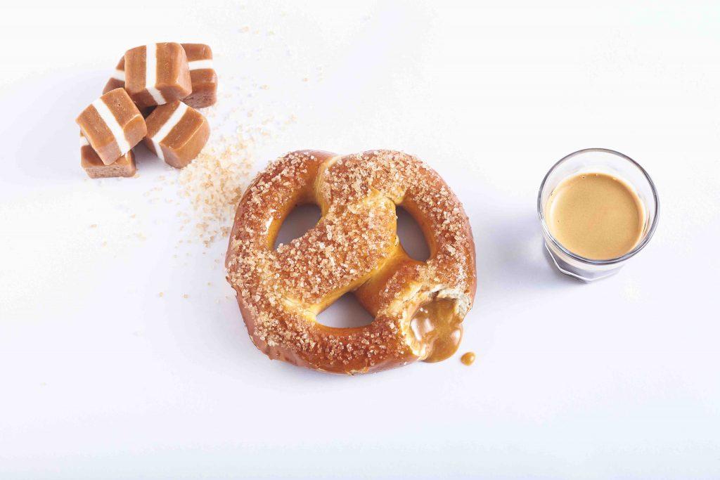 4. Salted Caramel Pretzel combo